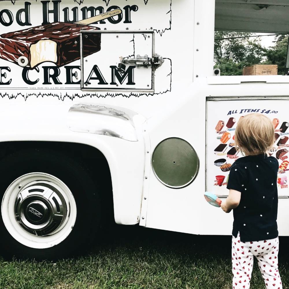 Good Humor Ice Cream Truck Lilies and Lambs