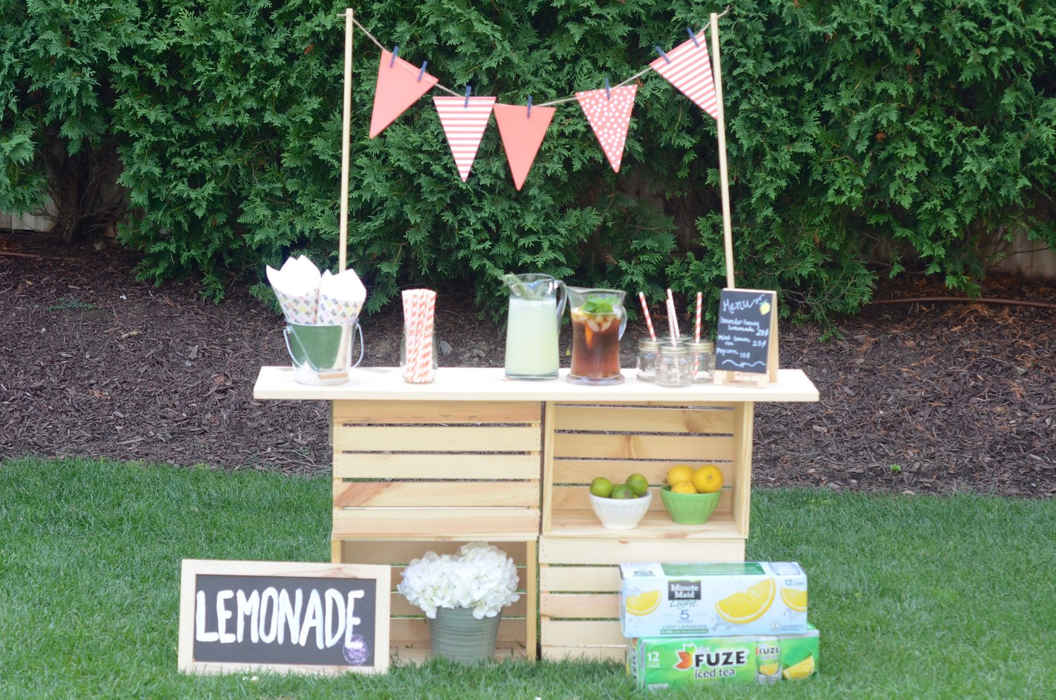 DIY Lemonade Stand with Peapod — Lilies And Lambs