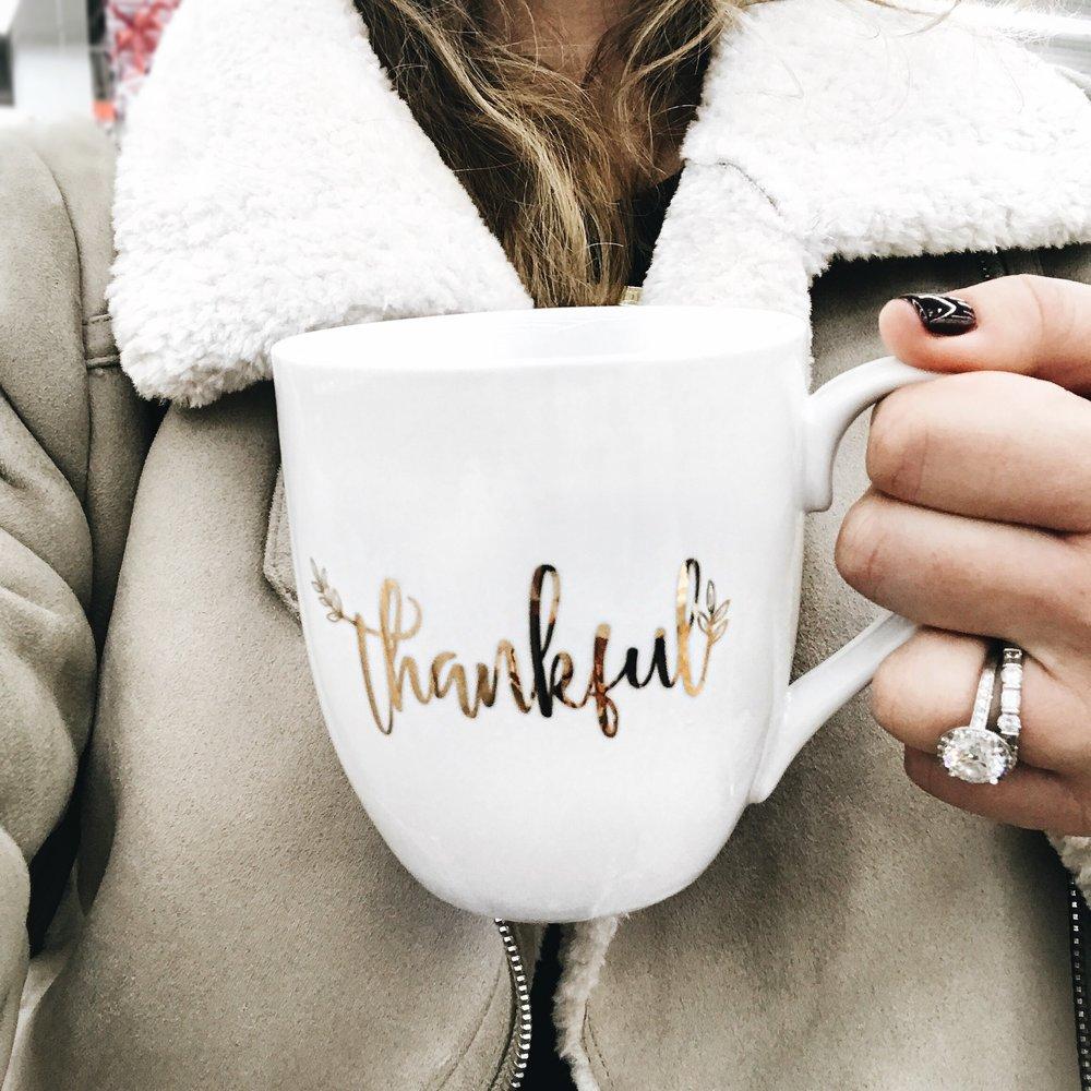 Thankful Mug Lilies and Lambs