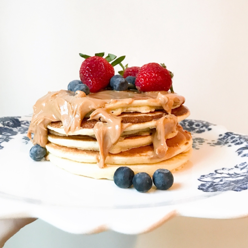 {A nice stack of PB Pancakes. Just for MM}