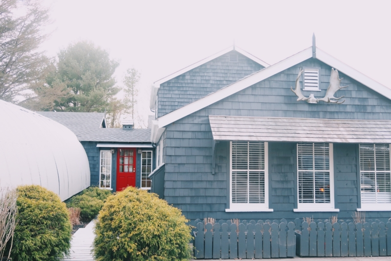 Tiverton RI Moore House Lilies and Lambs