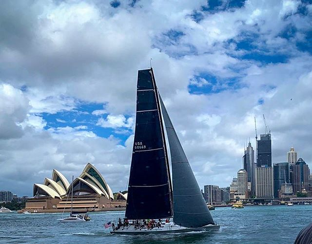 Successful practice day down under. #prospectorsailing #rshyr . 📸 @claire.landry