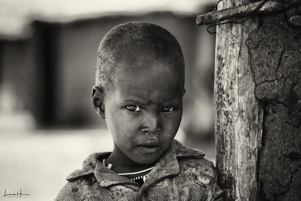 Maasai Child, 2017