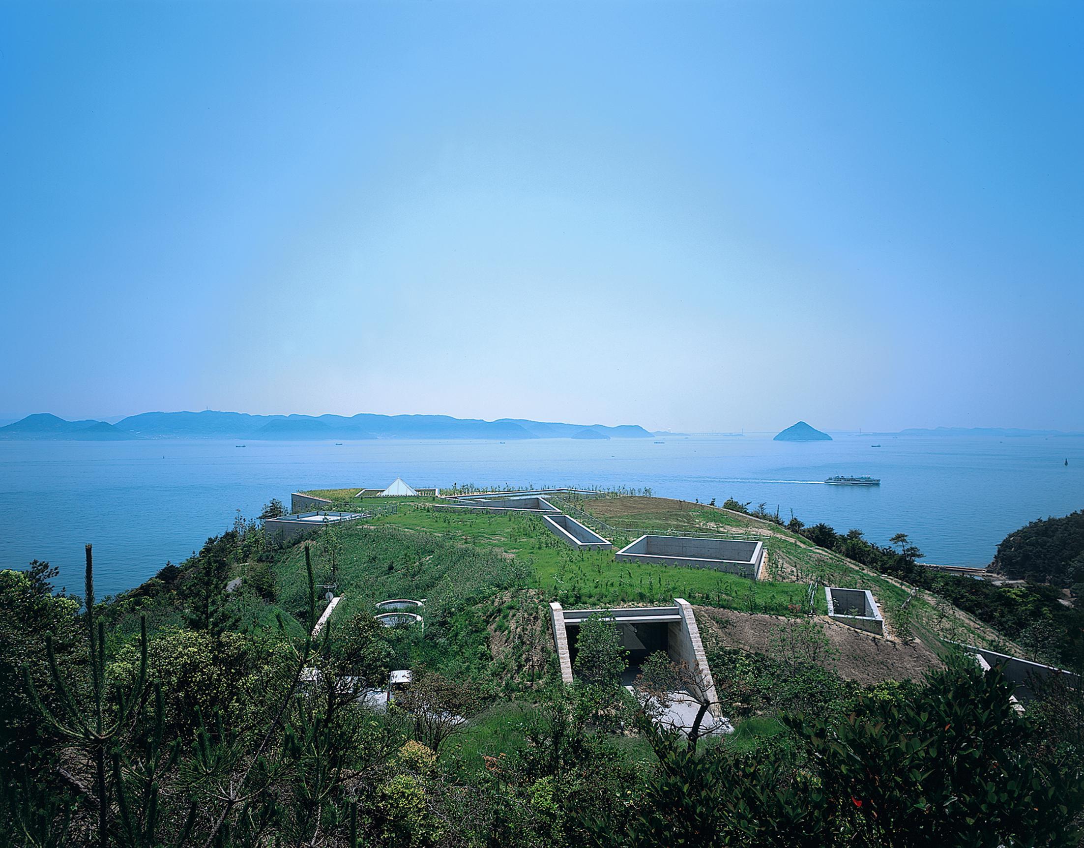 Chichu Art Museum, Architect: Tadao Ando, Photographer: Mitsumasa Fujitsuka