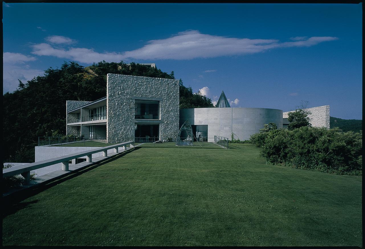 Benesse House, Architect: Tadao Ando, Photo: Tadasu Yamamoto