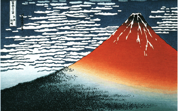 Hokusai, 36 Views of Mount Fuji
