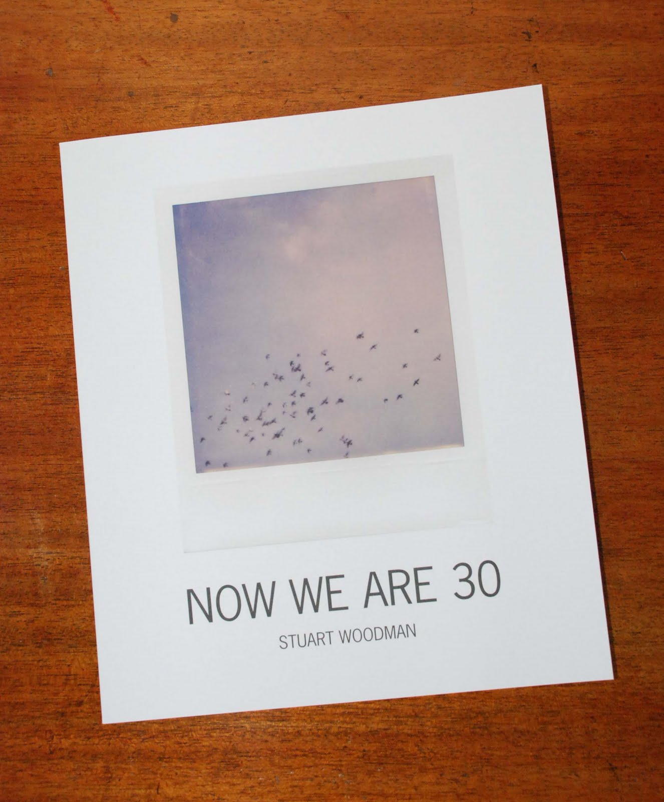 Stuart Woodman, Now We Are 30
