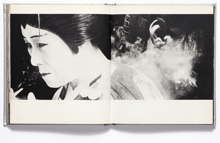 "Spread from Shomei Tomatsu's ""Japan"""