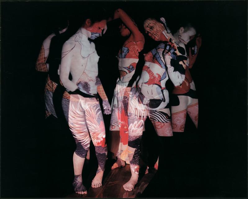 Eikoh Hosoe, Ukiyo-e Projections #1-1, 2002