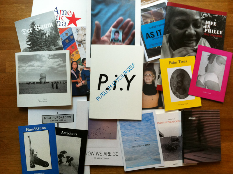 Some self- or independently published photobooks from 2010