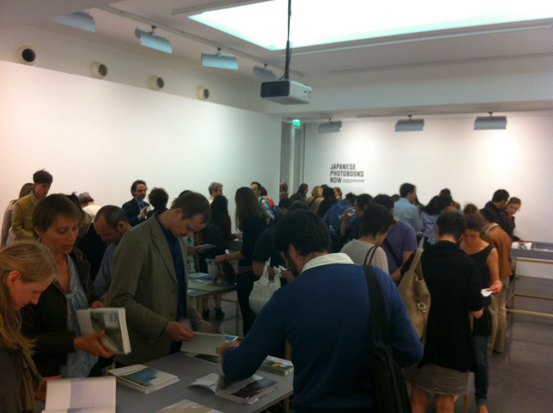 Opening night at Japanese Photobooks Now
