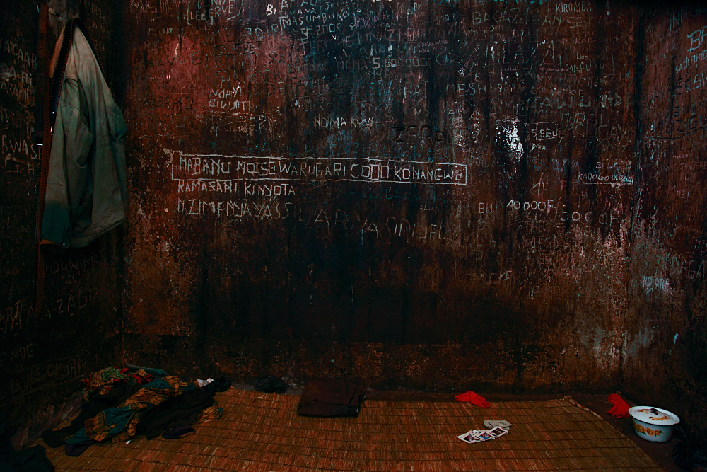 © NATHALIE MOHADJER - Detention cell in Muyinga, Burundi 2009