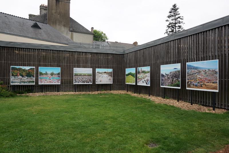 Hiromi Tsuchida, Installation view, Festival La Gacilly Photo 2016