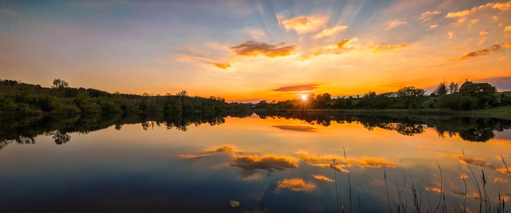 Last Light at the Lake