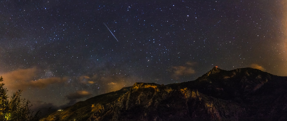 Shooting Star in Southern Spain