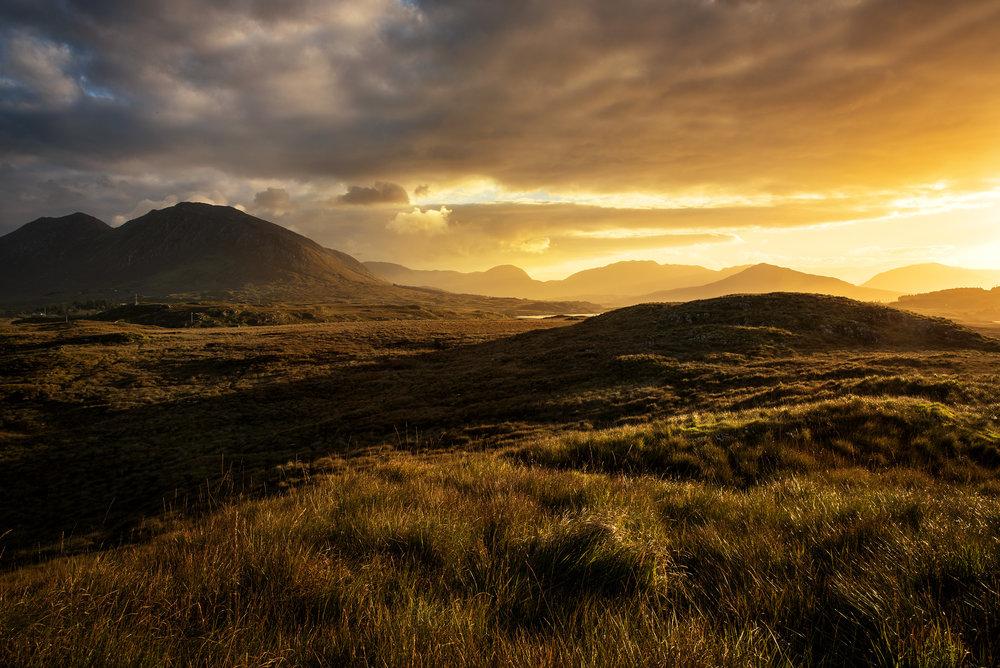 Sunrise in Connemara