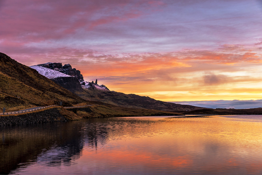 Sunrise at the Old Man of Storr