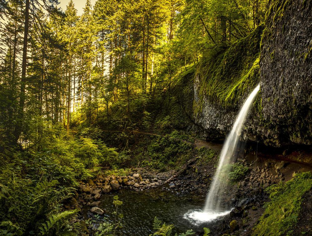 Moment at Horsetail Falls