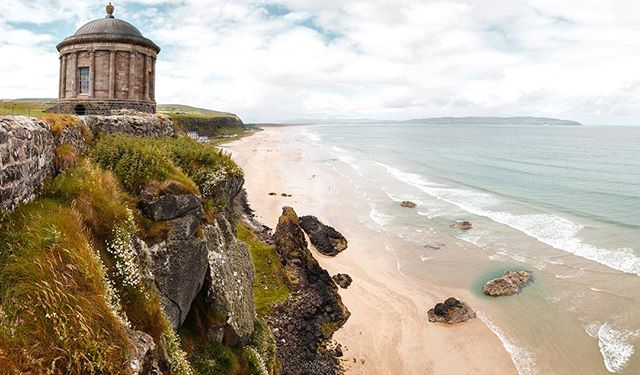 The Mussenden Temple hanging over the stunning Causeway Coastline in Northern Ireland. Beautiful part of the world that I'll be excited to return to at some point in the future 😍 . . . #discoverni #derry #mussendentemple #nationaltrustni #causewaycoastalroute #wildatlanticway #ig_ireland #loveireland #beautifuldestinations #huaweisnapys #youririshadventure #igersireland #photooftheday #inspireland_ #rawireland #exploreadventureireland #irishpassion #instaireland #youririshadventure #topirelandphoto #ig_ireland #visitireland #wanderireland #worldtravelscapes #tourismireland #BvSquad