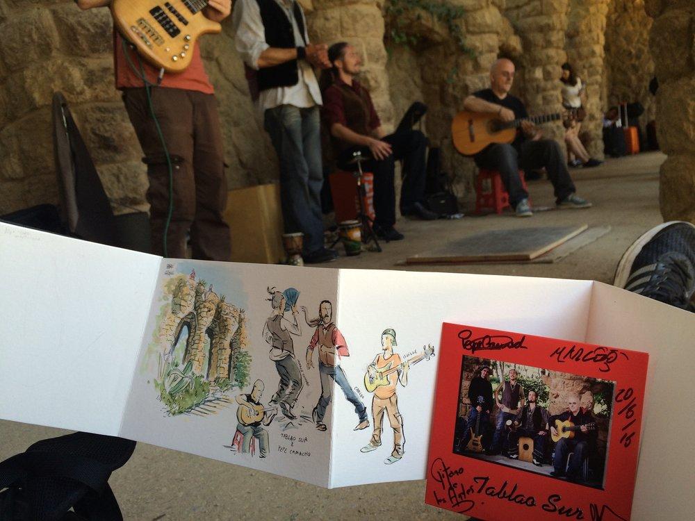 Spain - Tablao Sur performing at Par Güel