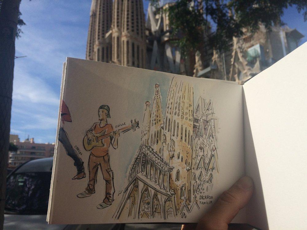 Spain - Sagrada Familia Basilic (Barcelona)