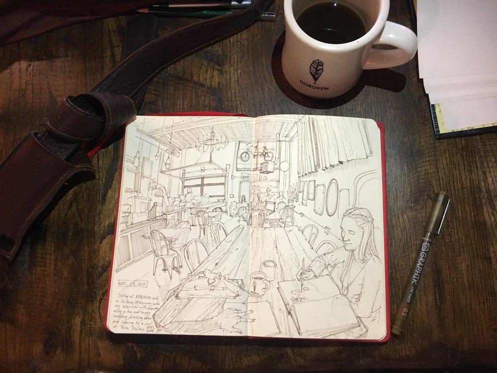 Hoboken Cafe - Guthrie, OK
