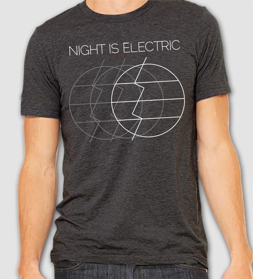 e55d178f60ee Triple Moon Logo Tee — Night is Electric