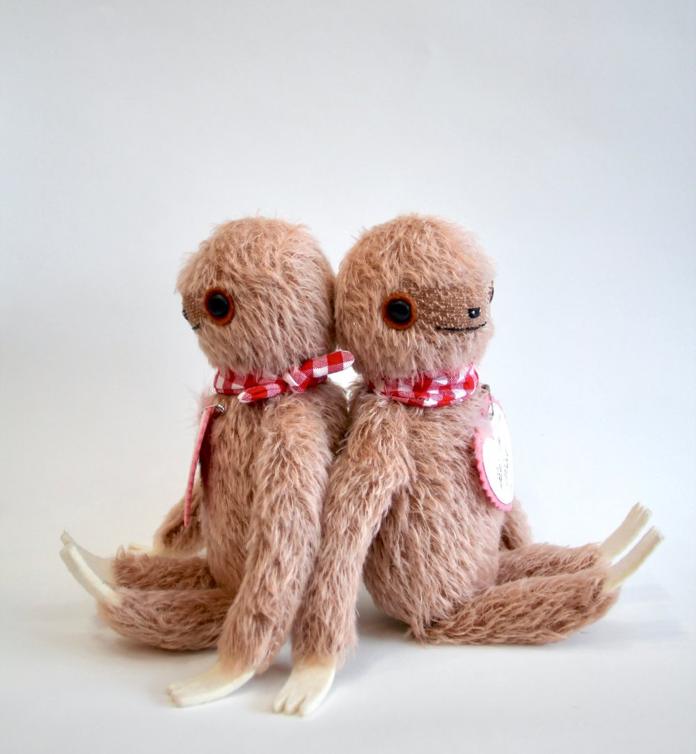 Rose brown sloths  SOLD OUT
