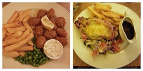 Premier Inn food