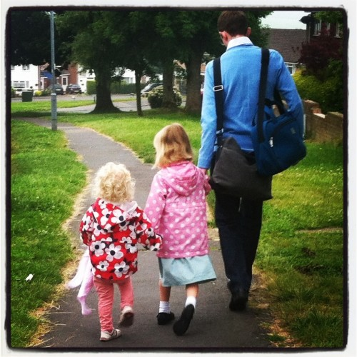 I WoreThis...A Rare Walk To School