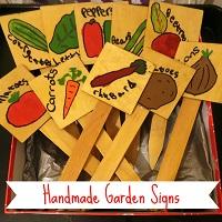 Handmade Garden Signs sml
