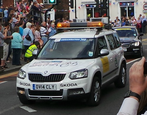 Tour of Britain Car