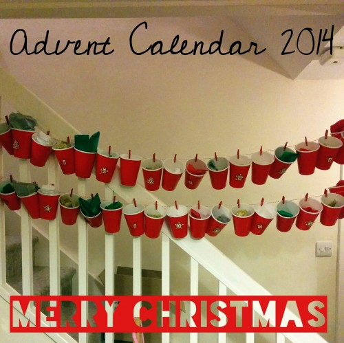 Christmas Advent Calendar Ideas at OneDad3Girls