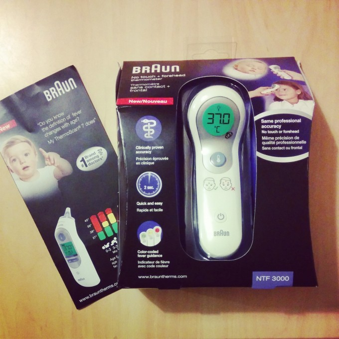 Braun No Touch + Forehead Thermometer