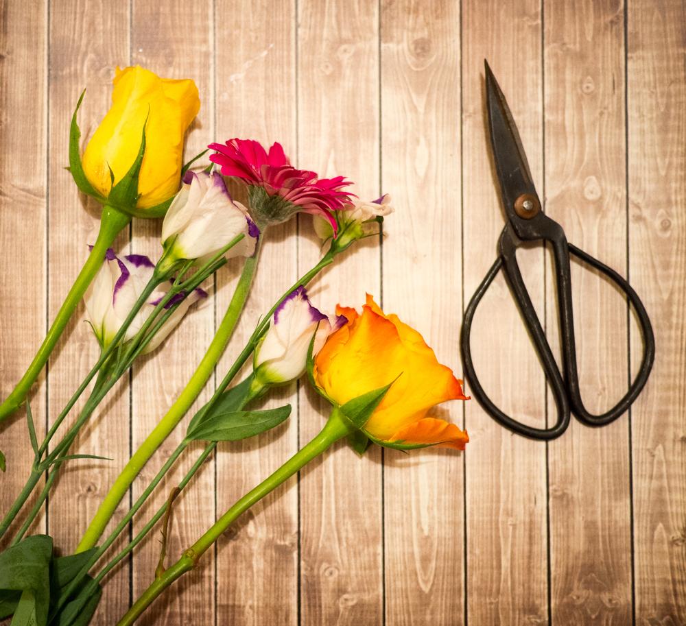 Flower Cutting