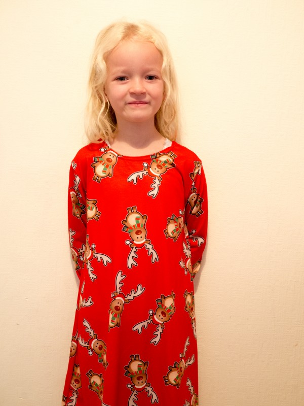 Boohoo Kids Rudolph Dress