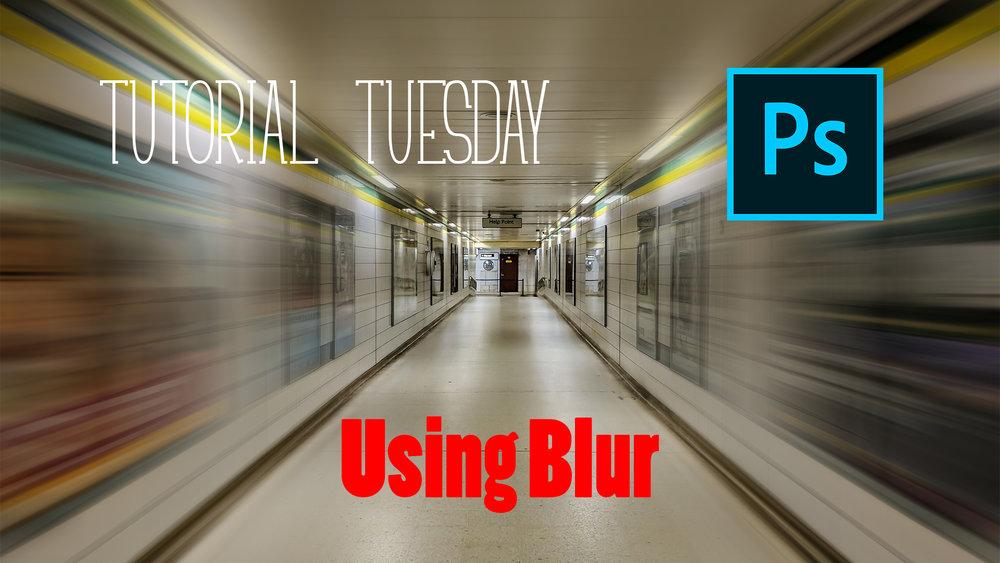 Tutorial Tuesday | Using Radial Blur