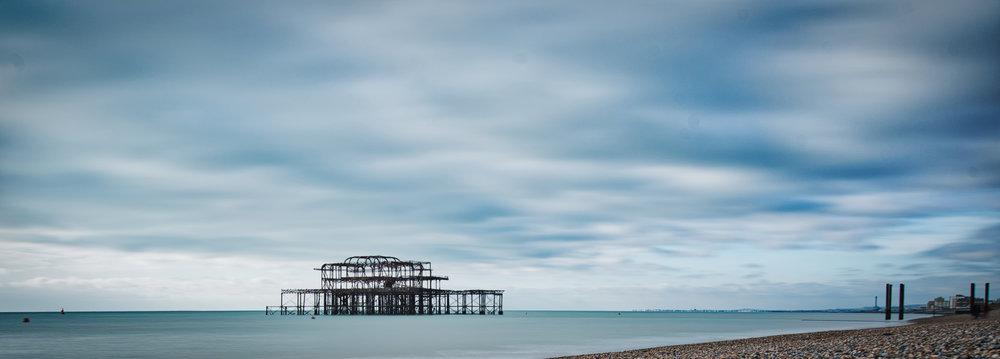 Calm Pier  | Brighton, East Sussex