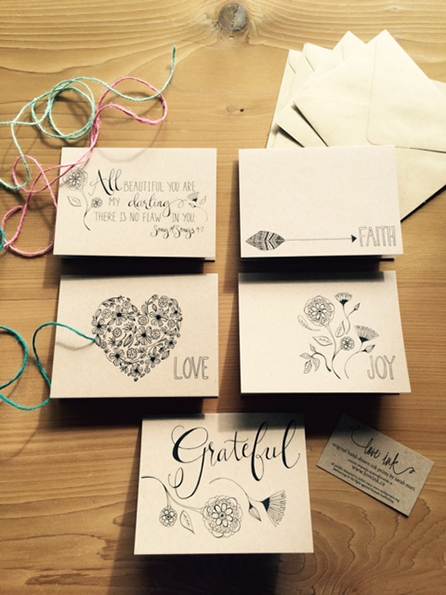 Greeting Card Gift Pack<br>$10.00 CAD