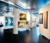 ADC - Art Design Consultants Breathtaking 10,000 sq. ft. contemporary gallery on the edge of downtown Cincinnati
