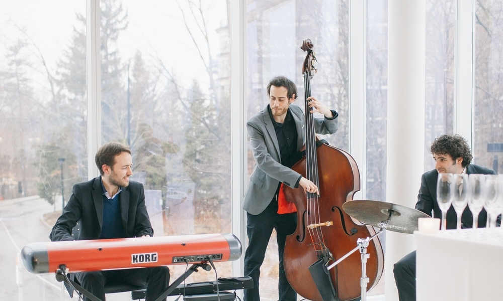 Sidecar Jazz Music Trio - Live Music and Entertainment - Toronto Ontario - Wedding