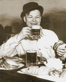 Man with Beer & Sandwich.png