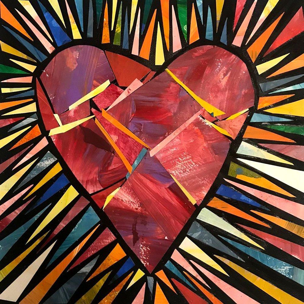 Bursting with Light Heart