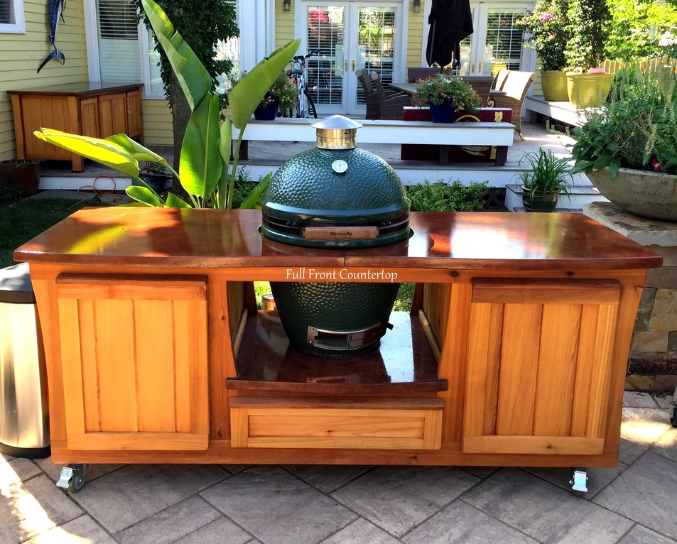 Wonderful Big Green Egg Cabinet Tables