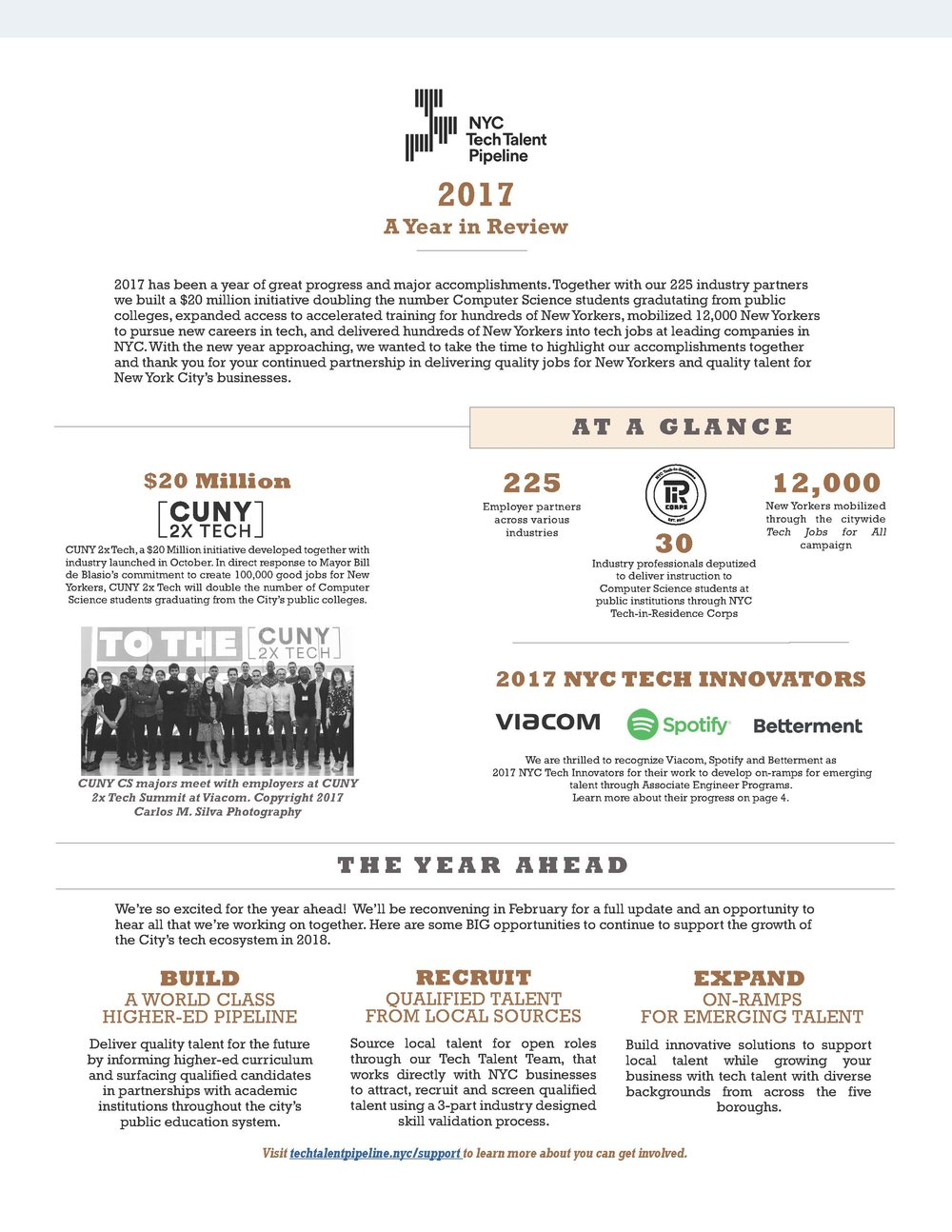 Read more about how Industry Advisors supported local talent in 2017. -