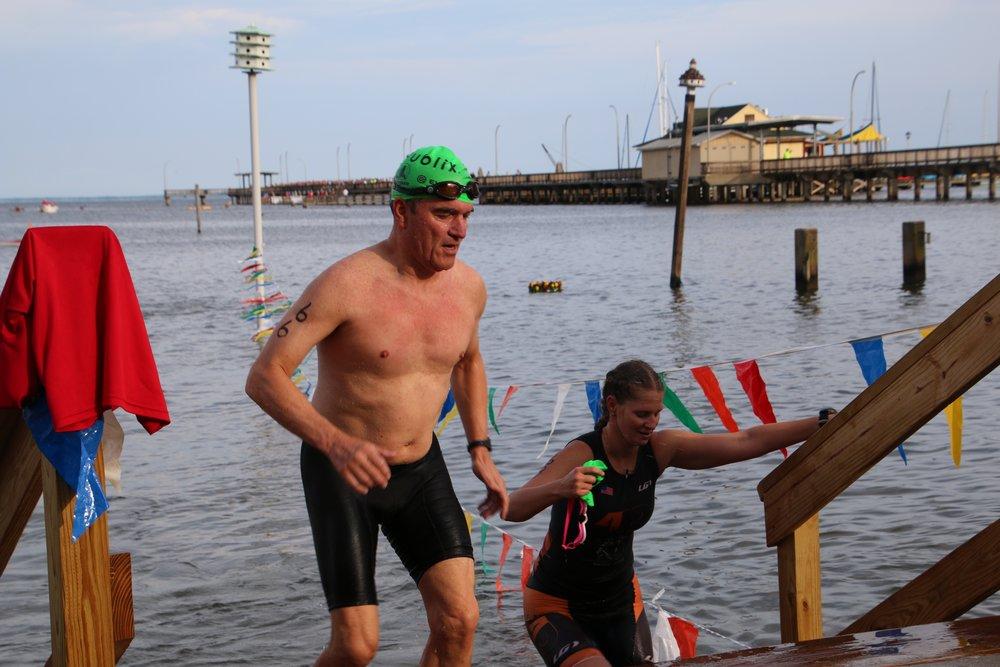 Swim 1/3-Mile