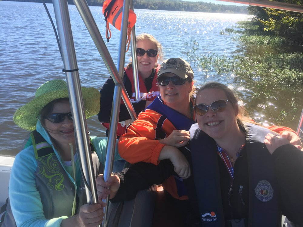 Proud to have joined three BOW Veterans for a day on   Lay Lake.   We learned motor boat safety, how to trailer, and common hand  ling practices. Many thanks to   the State of Alabama Marine Police Troopers for showing us the ropes!