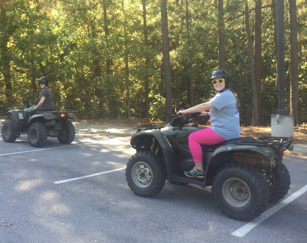ATV Handling with Michael East & Ben Montgomery from the Department of Conservation. Learning how to safely operate a 4-wheeler gets you one step closer to exploring uncharted natural places so off we went!