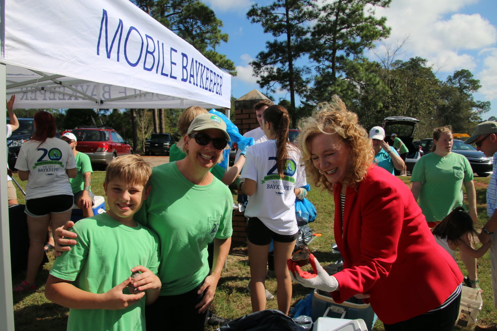City Council President Gina Gregory was one of 266 volunteers who attended the event!