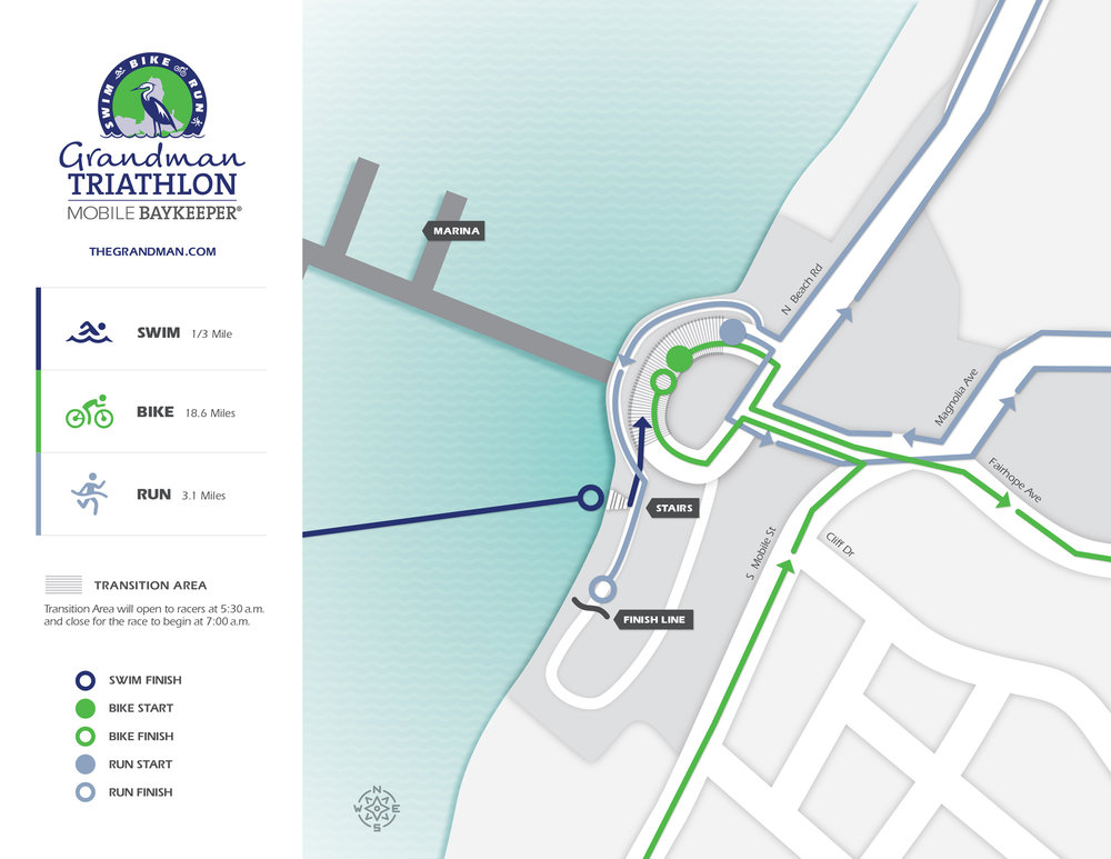 Transition Area opens at 5:30 a.m. and closes at 7 a.m. Map design by    Graves Creative    .